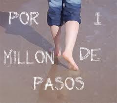 POR 1 MILLÓN DE PASOS...